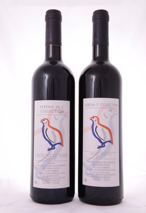 Blandlåda med två röda viner från Verena Wyss.