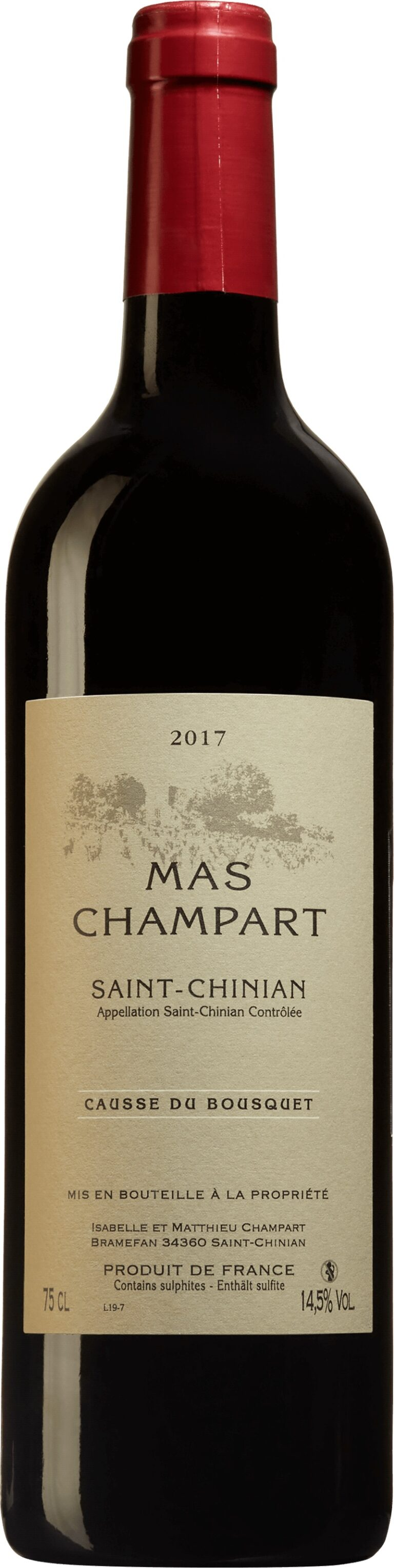 93488 Causse du Bousquet 2017 från Mas Champart